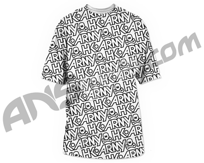 HK Army Typeface All Over Paintball T-Shirt - White