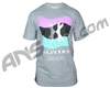 HK Army Wavy Paintball T-Shirt - Heather Grey