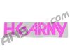 HK Army Typeface Car Sticker - Pink
