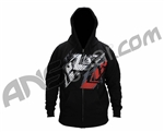 Contract Killer CK Shank Zip Up Hoody - Black
