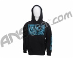 Contract Killer Logo Pull Over Hoodie - Black/Blue