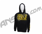 Contract Killer Logo Pull Over Hoodie - Black/Yellow
