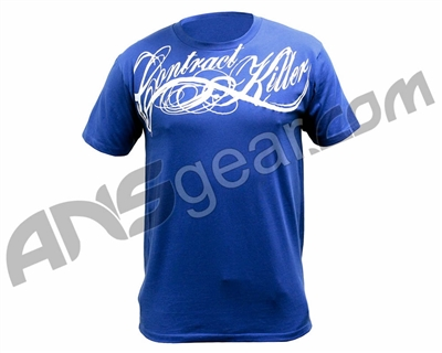 Contract Killer OG Script T-Shirt - Blue