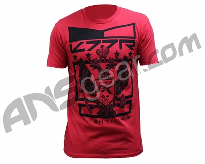 Contract Killer Solid Crest T-Shirt - Red