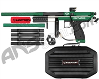 Inception Designs Retro Predator Pump Autococker Paintball Gun - Green/Black