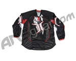 Invert 2010 LTD Paintball Jersey - Red