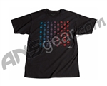 Invert 2011 Checker T-Shirt ZE - Black