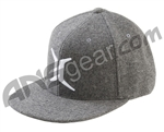 Invert Flannel Men's Flex Fit Hat - Grey