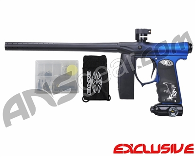 Invert Mini FS Paintball Marker - Fade Dust Black/Blue