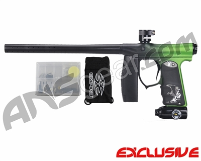 Invert Mini FS Paintball Marker - Fade Dust Black/Green