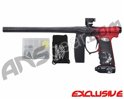 Invert Mini FS Paintball Marker - Fade Dust Black/Red