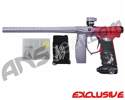 Invert Mini FS Paintball Marker - Fade Dust Grey/Red