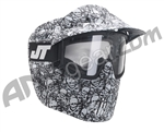 JT Alpha Thermal Paintball Goggles - Limited Edition White Skull