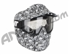 JT Alpha Single Paintball Goggles - Limited Edition White Skull