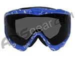 JT Spectra EPS Sic Series Goggle Frame With Smoke Lens - Blue Bandana