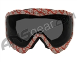 JT Spectra EPS Sic Series Goggle Frame With Lens - Rage Red