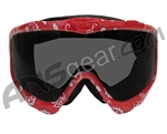 JT Spectra EPS Sic Series Goggle Frame With Lens - Red Bandana