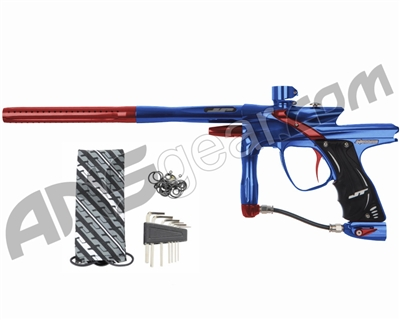 JT Impulse Paintball Gun - Blue/Red