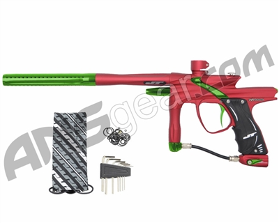JT Impulse Paintball Gun - Dust Red/Slime