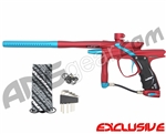 JT Impulse Paintball Gun - Red/Dust Teal
