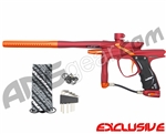 JT Impulse Paintball Gun - Red/Sunburst Orange