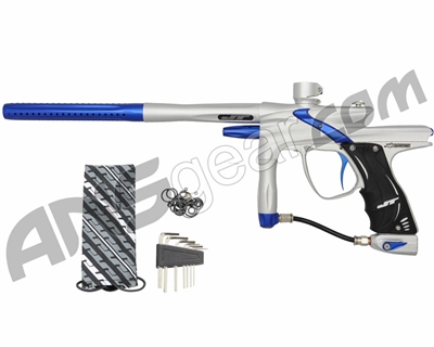 JT Impulse Paintball Gun - Silver/Blue