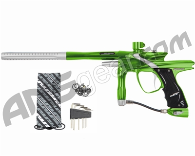 JT Impulse Paintball Gun - Slime/Dust Silver