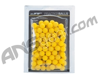JT .68 Caliber Reusable Rubber Practice Balls - 100ct - Yellow