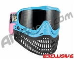 Jt ProFlex Thermal Paintball Mask - Limited Edition Porno Cat Teal