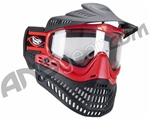 Jt ProFlex Thermal Paintball Mask - Red