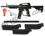 2012 Kingman Spyder MRX Semi-Auto Paintball Gun - Saber Package