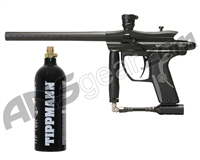 Kingman Spyder Fenix Electronic Paintball Gun w/ FREE 20 oz CO2 Tank - Diamond Black