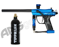 Kingman Spyder Fenix Electronic Paintball Gun w/ FREE 20 oz CO2 Tank - Gloss Blue