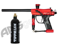 Kingman Spyder Fenix Electronic Paintball Gun w/ FREE 20 oz CO2 Tank - Gloss Red
