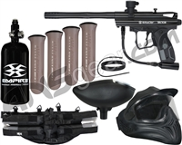 Kingman Spyder Victor Legendary Paintball Gun Package Kit