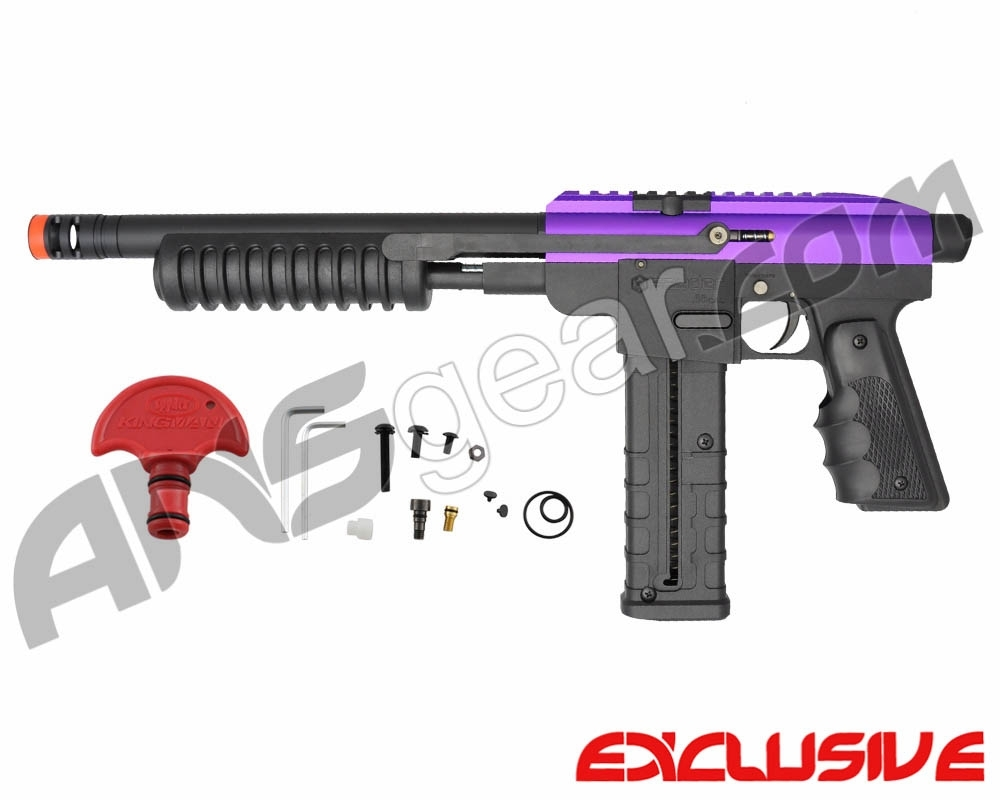 Spyder Hammer 7 Paintball Gun - Electric Purple