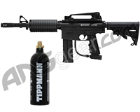 Kingman Spyder MR6 Paintball Gun w/ FREE 20 oz CO2 Tank - Diamond Black