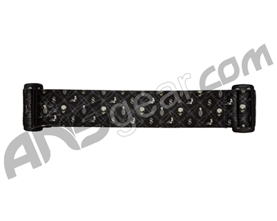KM Paintball Goggle Strap - 09 Barbwire Black