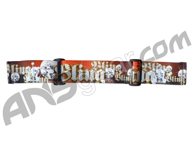 KM Paintball Goggle Strap - 09 Bling