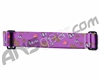 KM Paintball Goggle Strap - 09 Chicken, Watermelon & Waffles - Purple