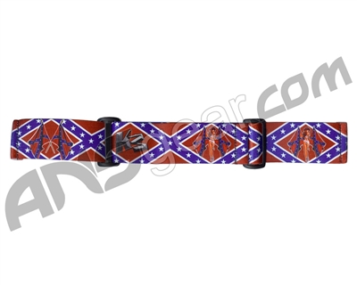 KM Paintball Goggle Strap - 09 Dirty South
