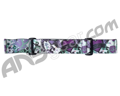 KM Paintball Goggle Strap - 09 Dove Purple