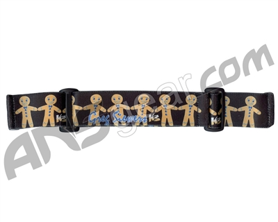 KM Paintball Goggle Strap - 09 Gingerbread