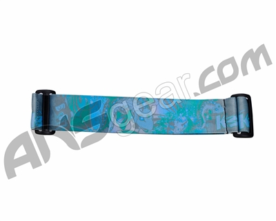 KM Paintball Goggle Strap - 09 Koi Teal