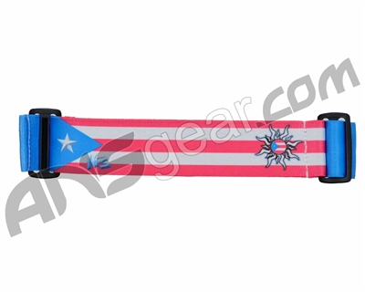KM Paintball Goggle Strap - 09 Puerto Rico