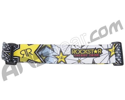 KM Paintball Goggle Strap - 09 Rockstar Grey