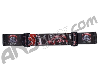 KM Paintball Goggle Strap - 09 Stoned Assassins