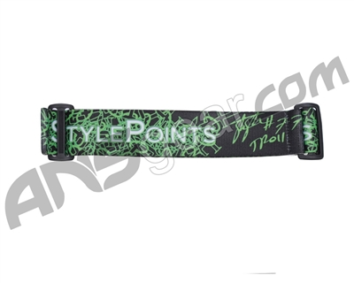 KM Paintball Goggle Strap - 09 Thomas Taylor Electro Style Points