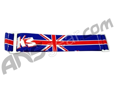 KM Paintball Goggle Strap - British Flag