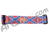KM Paintball Goggle Strap - Confederate Flag Gold